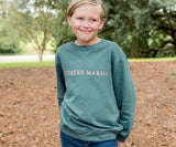 Dark Green | Youth SEAWASH™ Sweatshirt