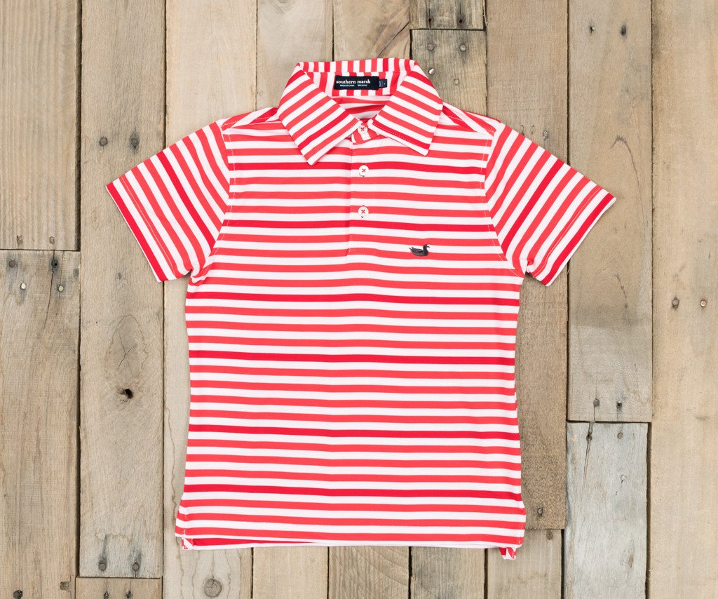 Youth Bermuda Performance Polo - Newberry