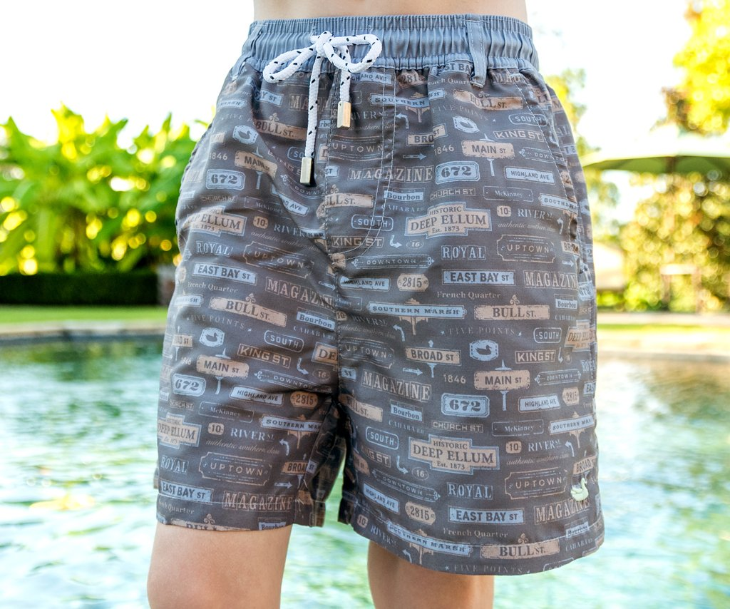 Youth Dockside Swim Trunk - Avenues