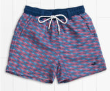 Youth Dockside Swim Trunk - Lattice