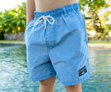 Breaker Blue Shoals | Youth SEAWASH™ Shoals Swim Trunk | Lifestyle