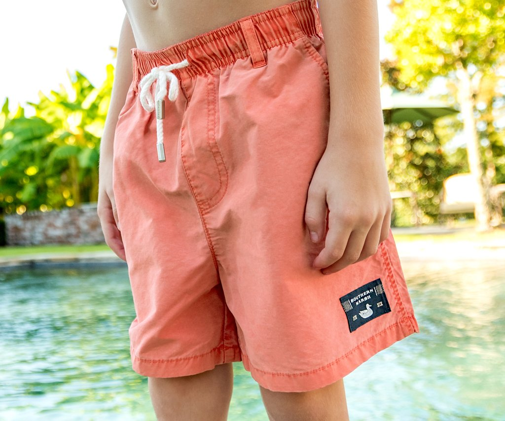 Coral | Youth SEAWASH™ Shoals Swim Trunk