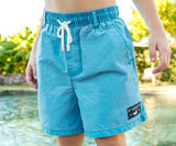 Teal Shoals | Youth SEAWASH™ Shoals Swim Trunk