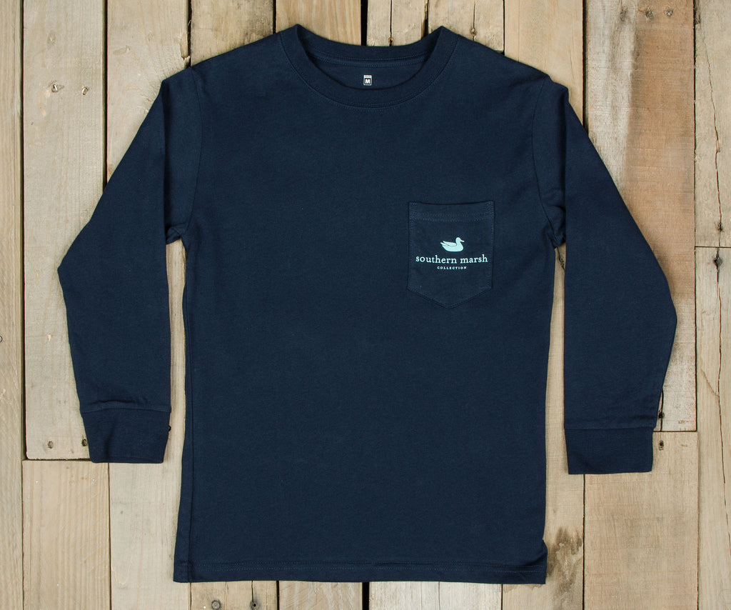 Youth Outfitter Collection Tee - Tuna - Long Sleeve