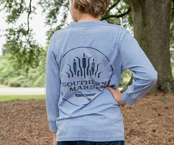 Youth SEAWASH™ Tee - Paddle - Long Sleeve