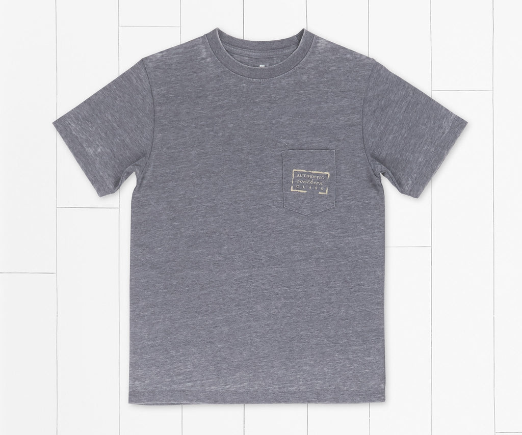 Washed Navy | Youth Authentic SEAWASH™ Tee
