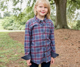 Slate   and Mint | Youth Hindman Flannel