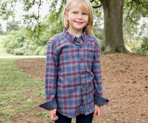 Youth Hindman Flannel