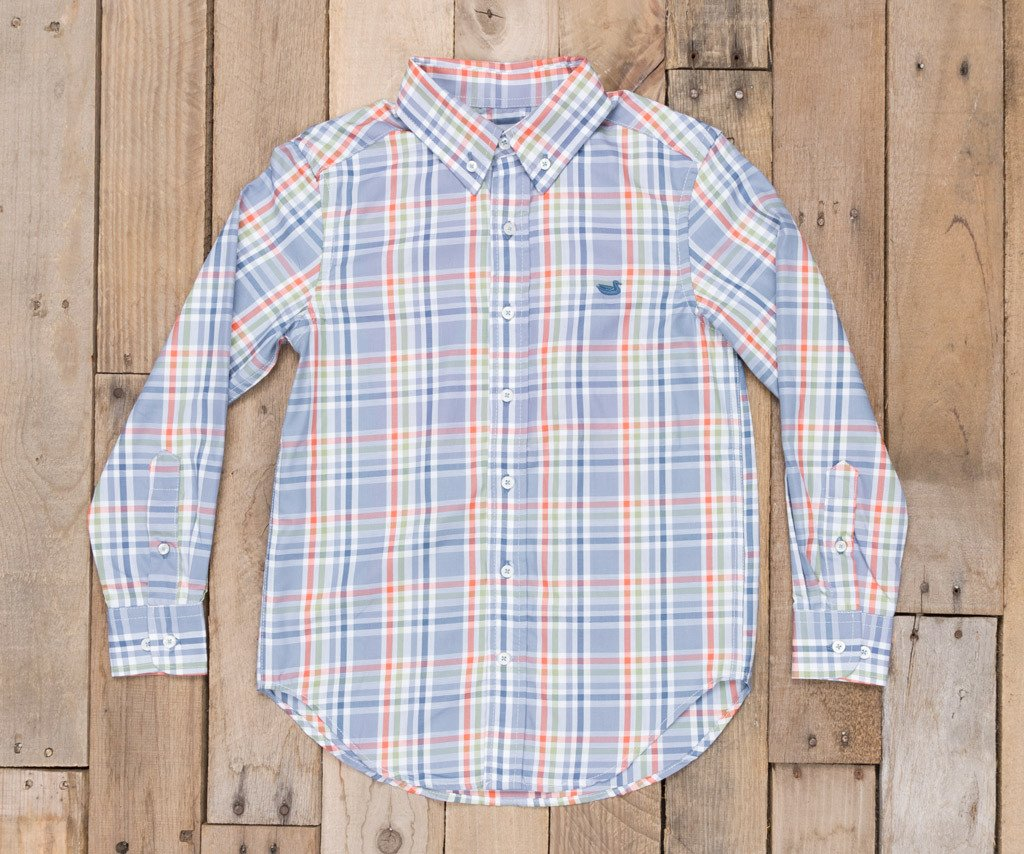 Youth Fairley Plaid Dress Shirt