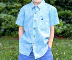 Youth Island Linen Shirt - Flamingos