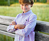 Youth Dunlavy Check Dress Shirt