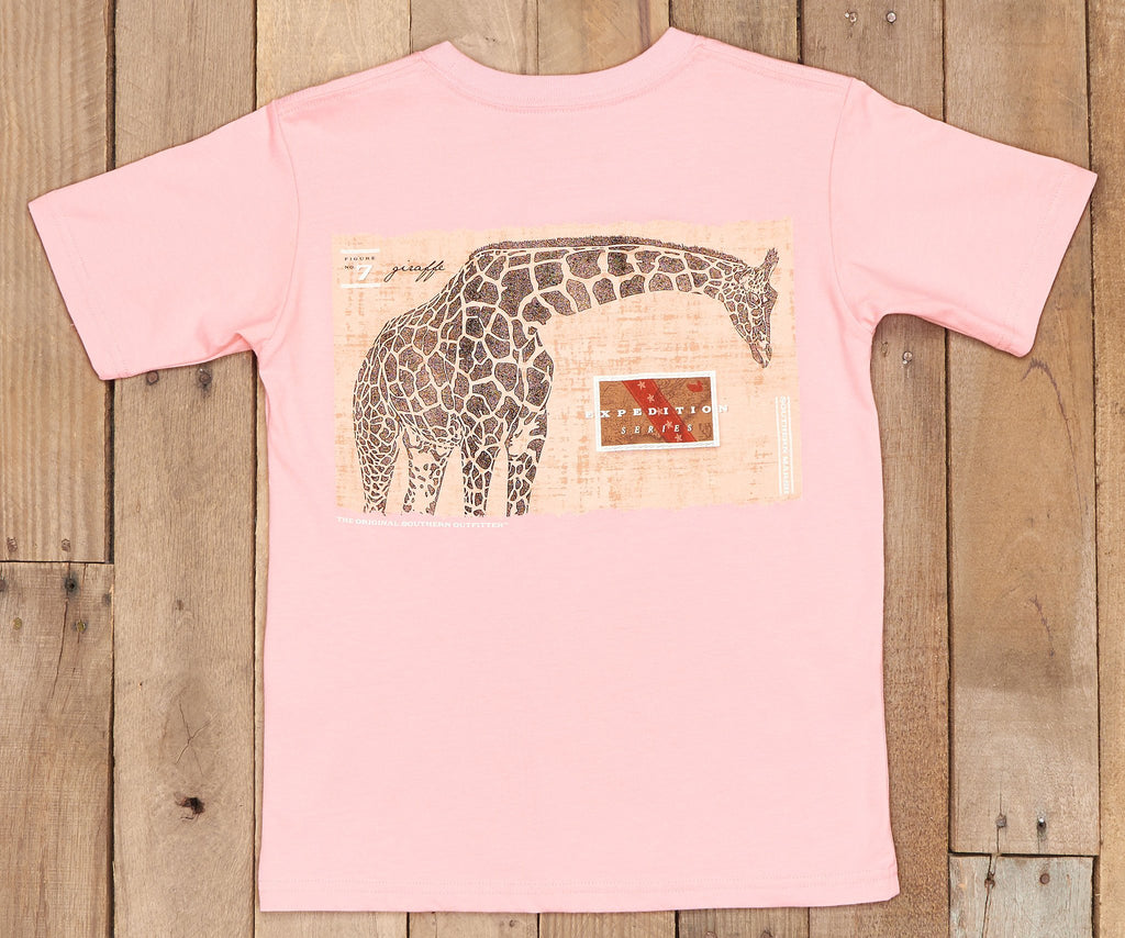Youth Expedition Series Tee - Giraffe