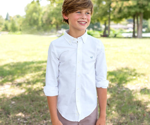 Youth Pintail Oxford Dress Shirt