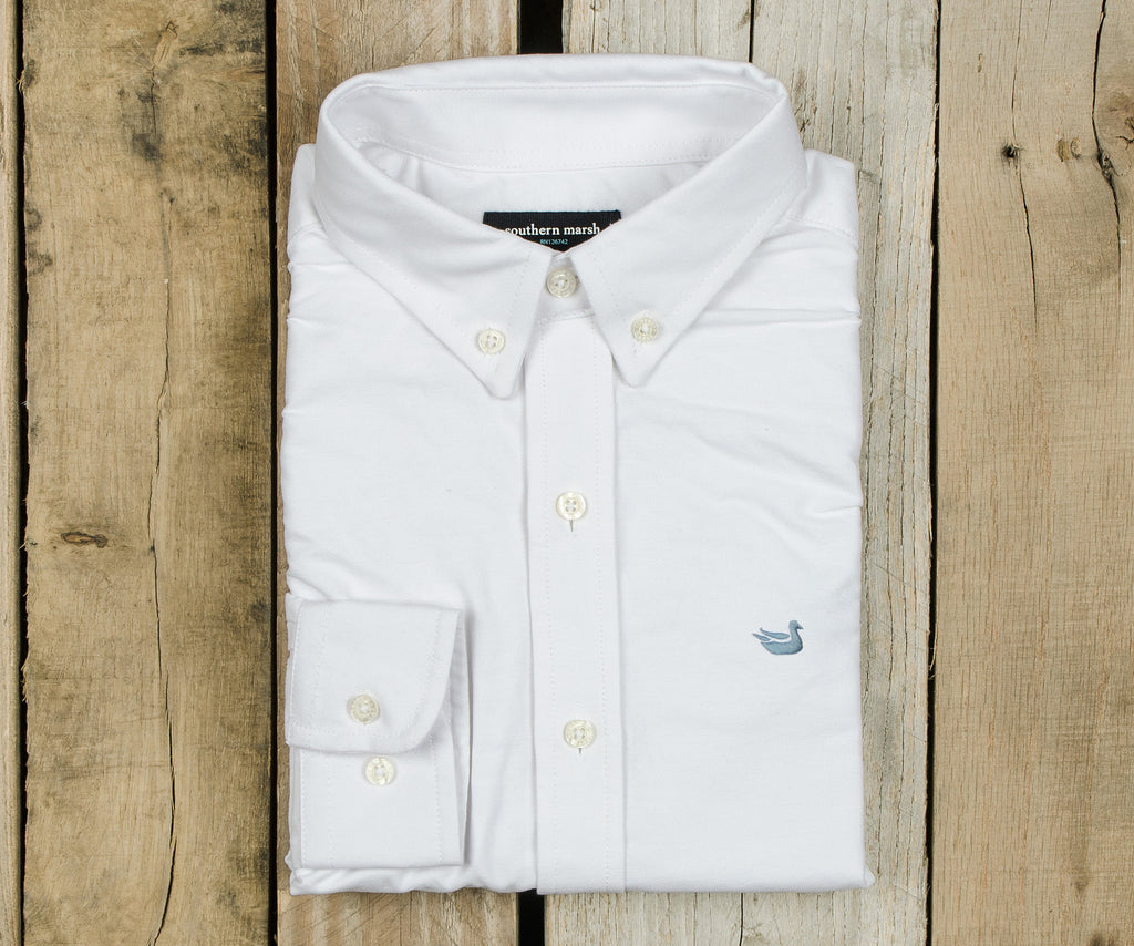 Youth Pintail Oxford Striped Dress Shirt