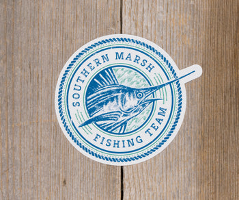 Southern Marsh Fishing Team Sticker