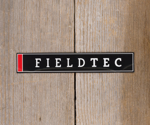 Fieldtec Rectangle Sticker