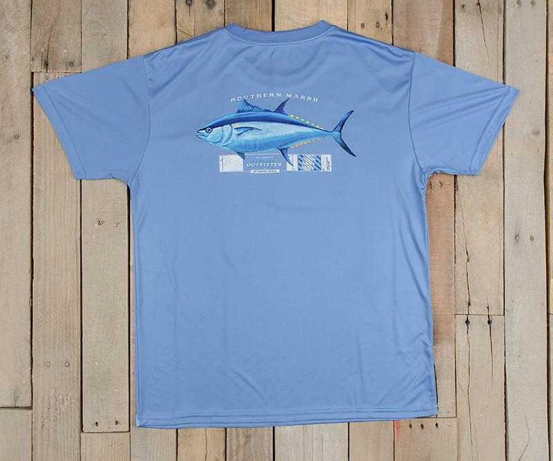 Kid/'s Southern Marsh Tuna Youth Outfitter Collection Tee