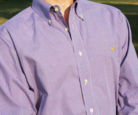Gadwall Gingham Dress Shirt