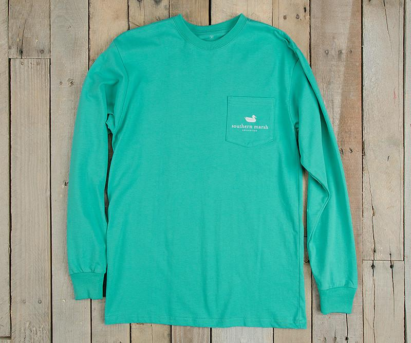 Expedition Series Tee - Pelican - Long Sleeve