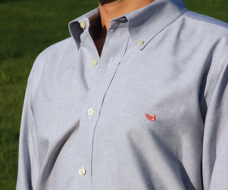 Classic Pintail Oxford Dress Shirt - University of North Carolina Wilmington