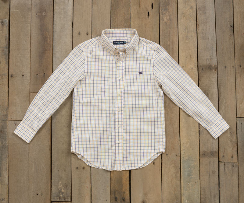 Youth Lindley Tattersall Dress Shirt