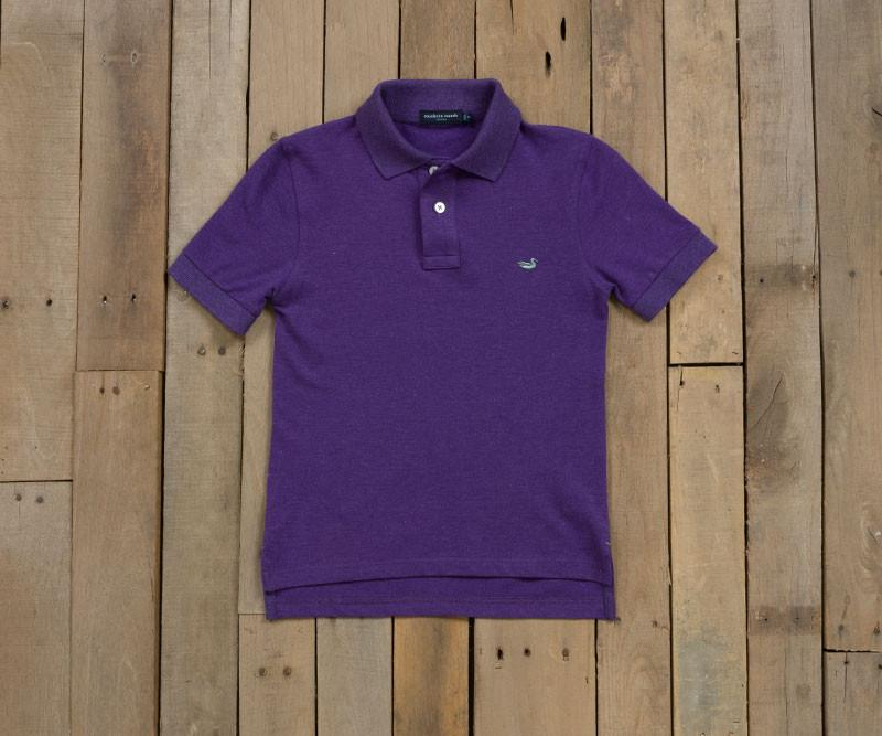 Youth Heather Stonewall Polo