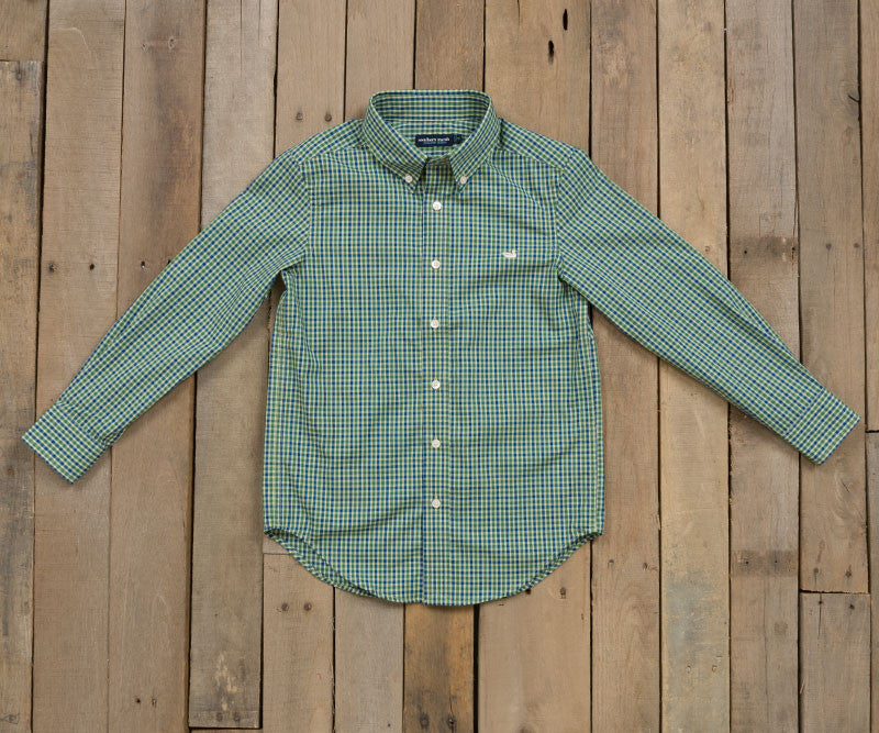 Youth Hookbill Gingham Dress Shirt