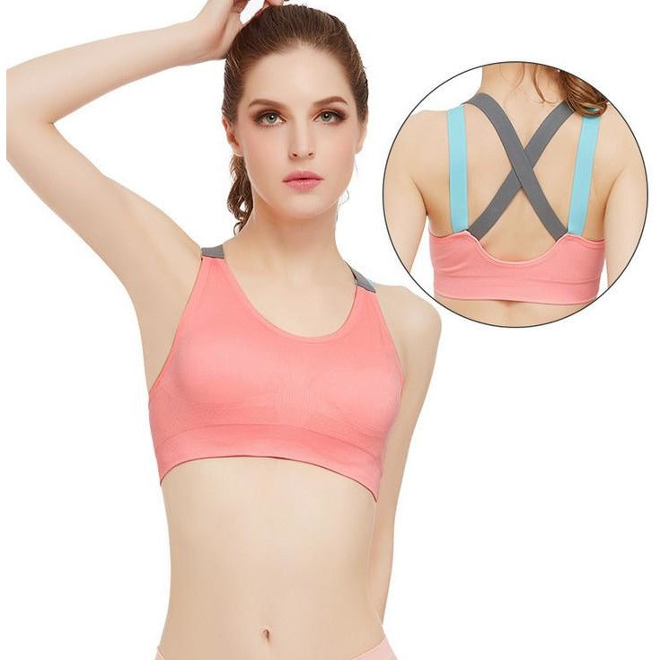Racerback Wireless Padded Sports Bra ISB100-1