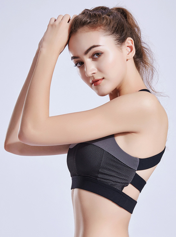 Racerback Training High Impact Sports Bra ISB133-1