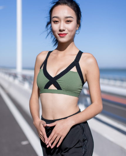 Racerback Wireless High Impact Sports Bra ISB161-1