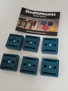 StealthMounts Makita Tool Mount 12mm Spacers