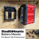 Bosch Battery Mounts