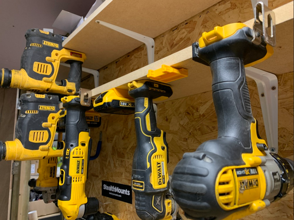 StealthMounts Tools Mounts for DeWalt Tools