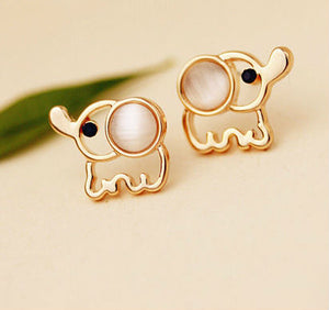 Baby Elephant Earrings - Urban Melon