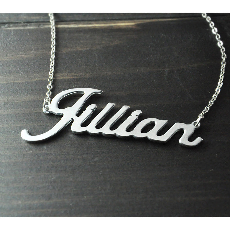Personalized Name Necklace - Urban Melon