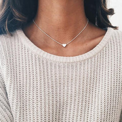 Tiny Heart Necklace - Urban Melon