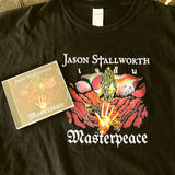 Masterpeace CD and T-shirt bundle | Jason Stallworth Metal Music