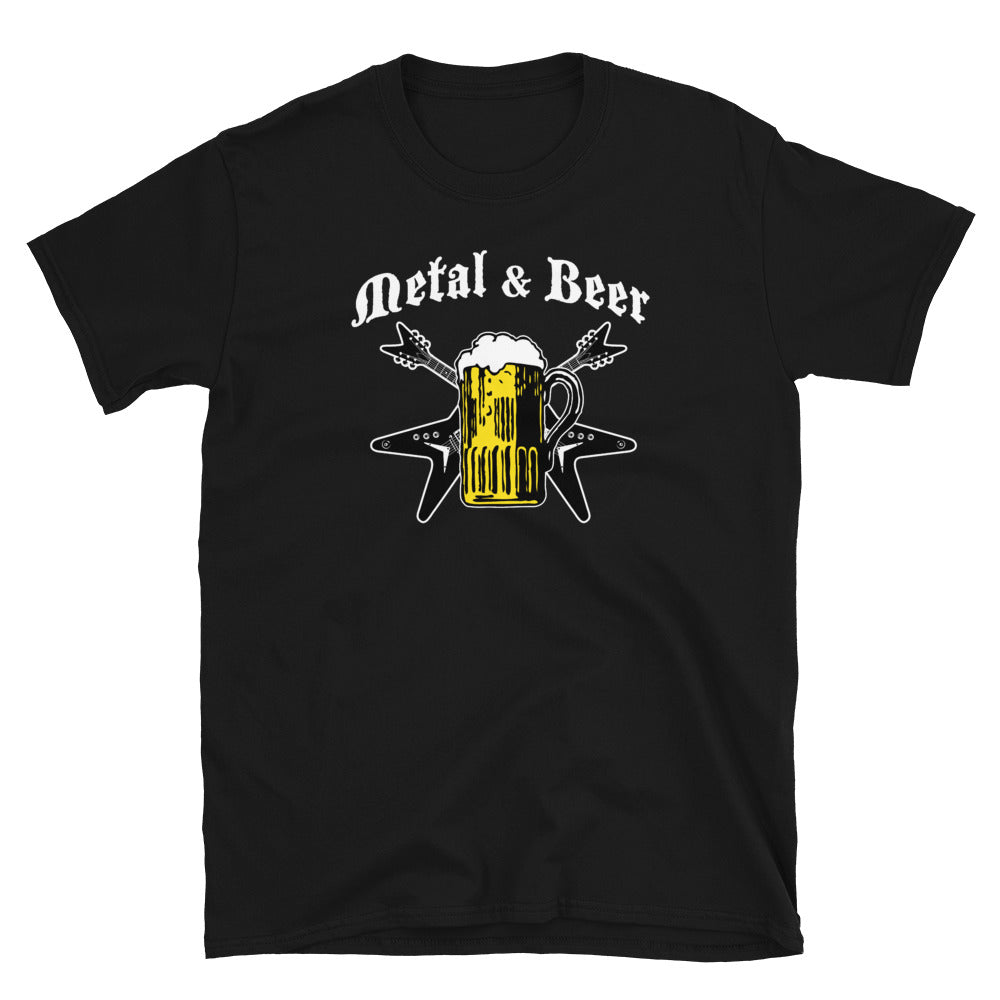 METAL & BEER T-SHIRT