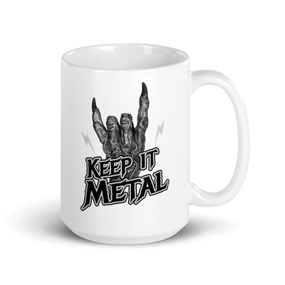KEEP IT METAL DRAGON HAND MUG