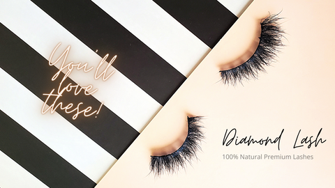 Diamond lash premium natural lashes