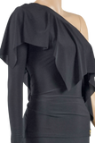 One Shoulder Frill Blouse - Where to Buy Dancewear SM Dance Fashion Competition Outfit Costume