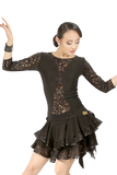 Lace Tale Back Blouse - Where to Buy Dancewear SM Dance Fashion Competition Outfit Costume