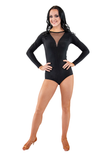 V-Neck Dance Bodysuit