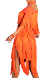 Fringe Latin Competition Dress | SM Dance Fashion