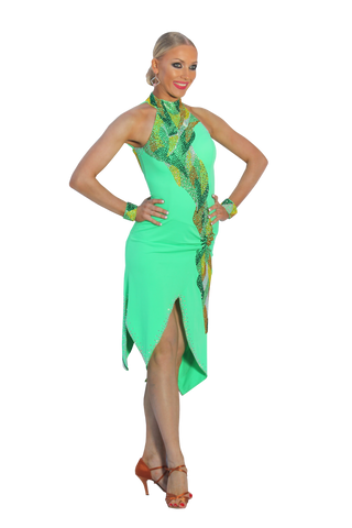 Latin & Rhythm Competition Dress | SM Dance Fashion