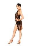 Nude Latin Dance Competition Dress | SM Dance Fashion