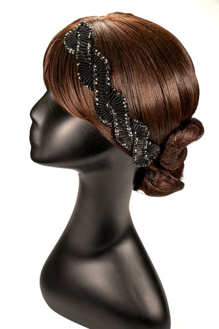 Spiral Narrow Pleat Hair Piece