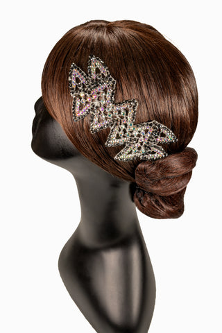 Abstract Zig-Zag Hair Piece-Front View | SM Dance Fashion