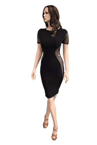 Short Sleeve Pencil Dress - Where to Buy Dancewear SM Dance Fashion Competition Outfit Costume