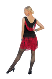 Cascading Fringe Latin & Rhythm Dress - Where to Buy Dancewear SM Dance Fashion Competition Outfit Costume